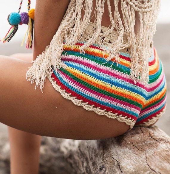 Ropa de playa ganchillo ropa de playa trajes de baño por byrosali