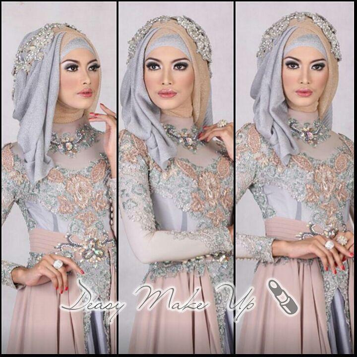 #riaspengantinbandung #makeup #pengantin #muslimah #hijab #kebayapengantinmuslimah #kebaya #belva #throwback #deasymakeup by deasy_makeup