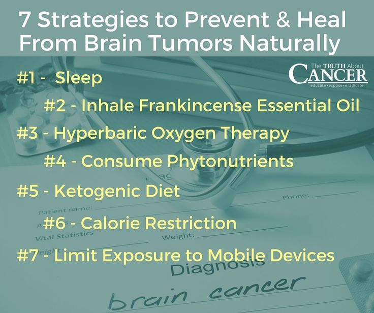 The brain is the most important organ in the body and we must do everything we can to protect it. Here are 7 strategies to prevent and heal from brain tumors naturally. Article by Dr. David Jockers DC, MS, CSCS. Click through to get the scoop. Please re-pin to support us on our mission to educate, expose, and eradicate cancer! // The Truth About Cancer