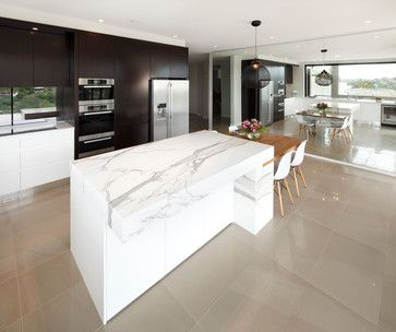 Clontarf - modern - Kitchen - Sydney - Art of Kitchens Pty Ltd