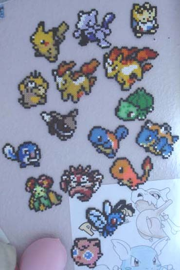150 Pokemon Perler Beads | Sprite Stitch