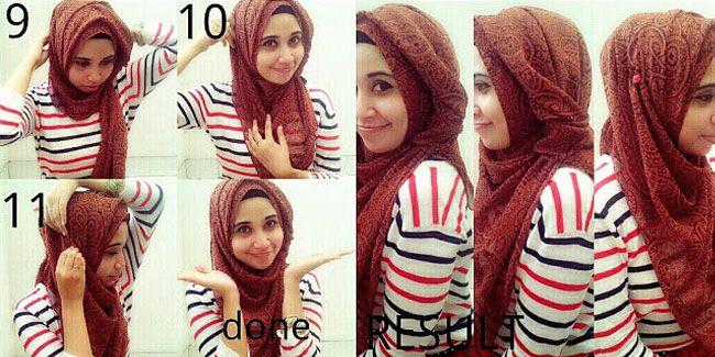 Gaya Hijab Anti Tembem