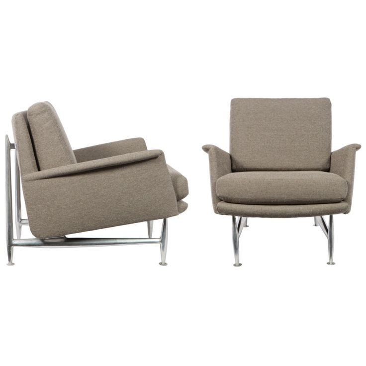 Donald Deskey Armchairs For Charak Modern
