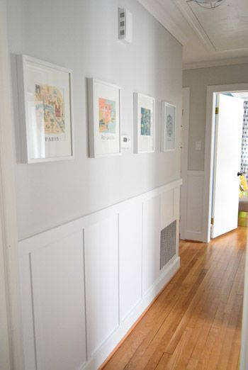 a hallway full of art for under 50 - Wall Board Ideas