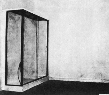 Le Vide (The Void, 1958) - Yves Klein