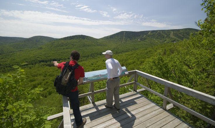 Parc régional du Massif du Sud via Tourisme Chaudière-Appalaches