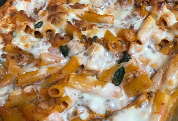 Cream Cheese And Sausage Pasta Bake Recipe In 2020 Sausage Pasta Sausage Pasta Bake Cooking Recipes