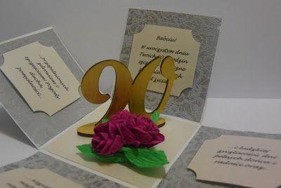 Poligon domowy: Exploding box na 90. urodziny Babci