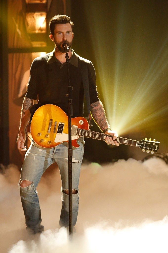 Photos that Prove Why Adam Levine Is the Sexiest Man Alive