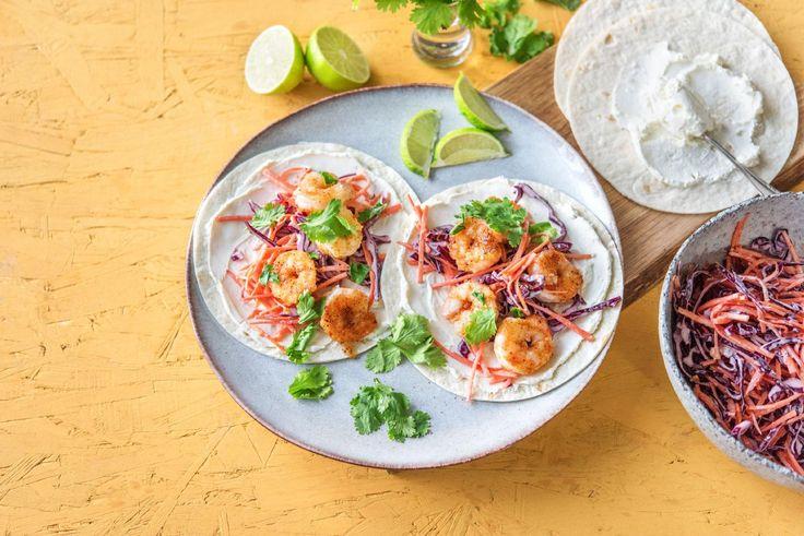 Rapid Crispy Shrimp Tacos Recipe | HelloFresh