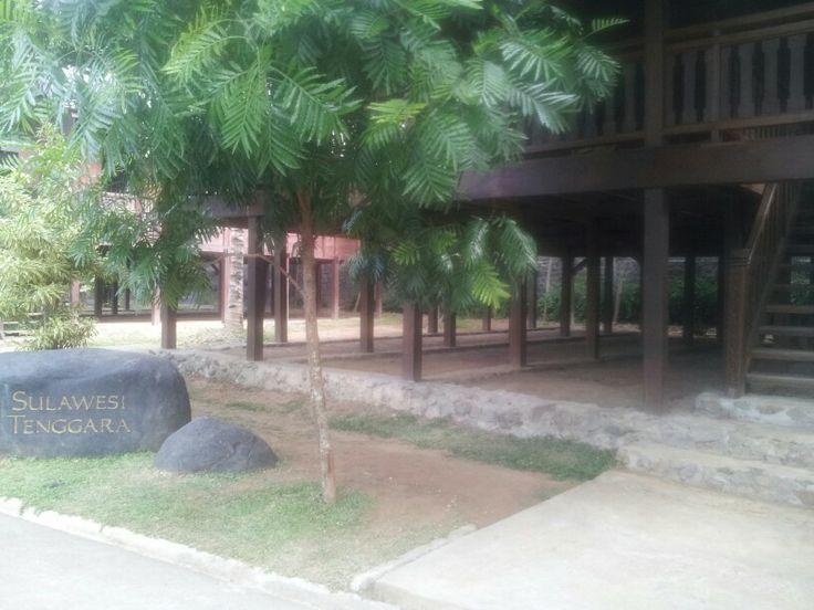 Sulawesi tenggara traditional house