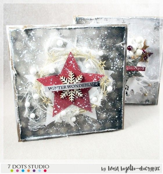 Winter wonderland - cards by Kasia Bogatko