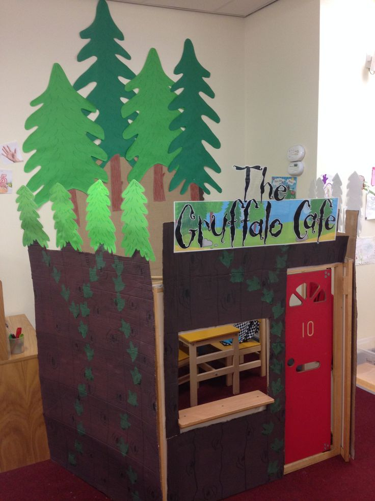 Gruffalo cafe role play