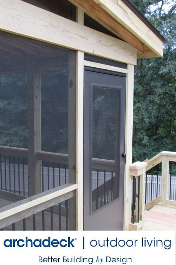 Safe Screened Porch : Best images about screened porch ideas from archadeck