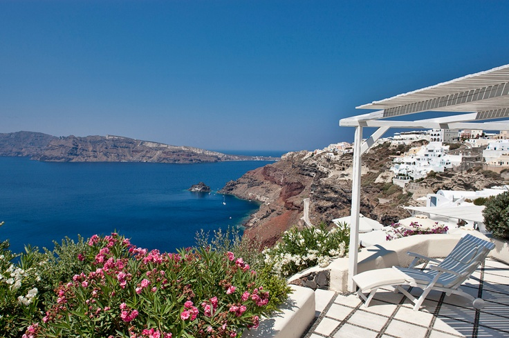 Canaves Oia Suites in Santorini.  Perfect for honeymooners....  www.asiminatours.com
