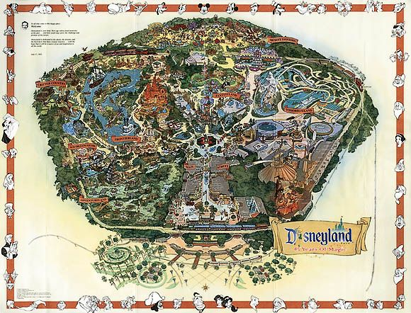 The 25 best map of disneyland ideas on pinterest disneyland 2000 map of disneyland gumiabroncs Choice Image