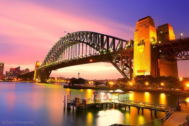 Sydney Harbour Bridge by -yury-, via Flickr