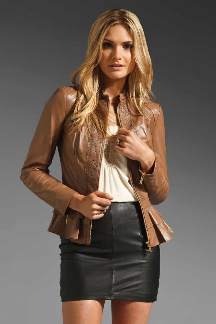 Best Designer Leather Jackets - Fall 2012 Leather Jackets for Women - ELLE