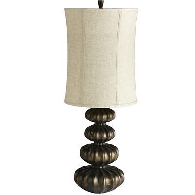 Grandiose Gourd Lamp... tall tall tall table lamp... awesome!