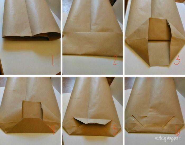 inartesy: Packaging natalizio ❄ Tutorial sacchetto di carta e idea regalo