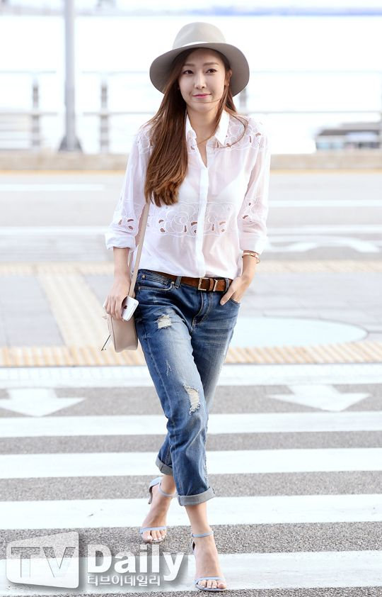 Jessica Jung Airport Fashion 150423 2015 Snsd Airport