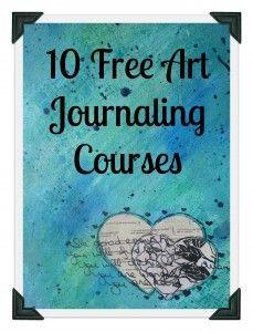 http://irreversiblymoi.com/10-free-art-journaling-courses-stretch-creativity/ 12 Free Art Journaling Courses to Stretch Your Creativity - Irreversibly Moi