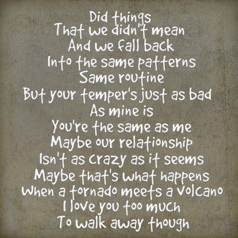 """My Life -- #LyricArt for """"Love The Way You Lie"""" by Eminem"""