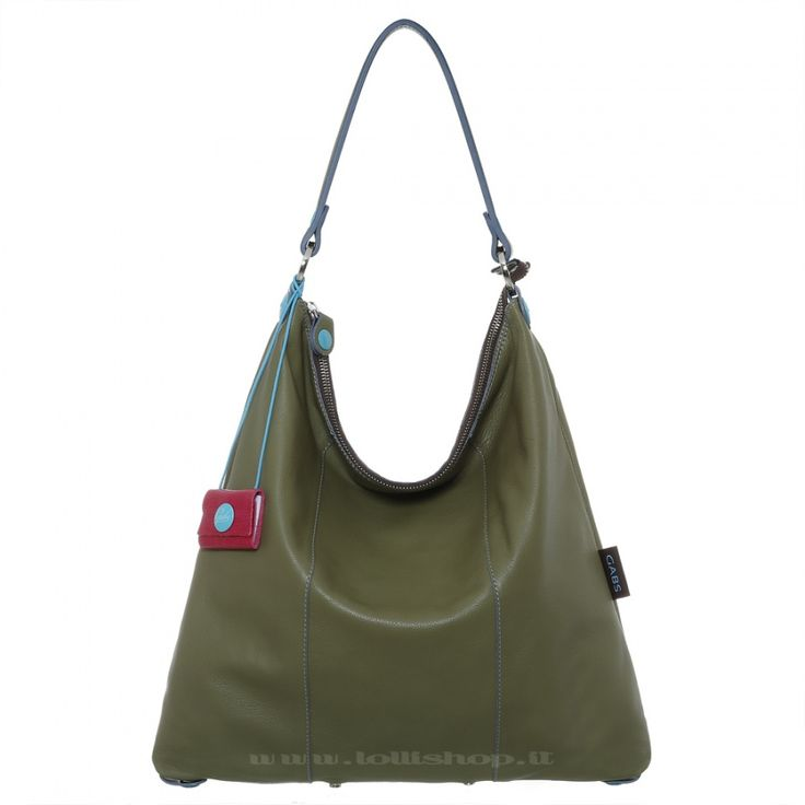 Borsa Gabs Sofia in pelle di vitello opaco colore verde #lollishop #gabs #collection #bag #bags #borsa #womenfashion #apparel #style #fashion #madeinitaly #winter #outfit #red #black #green