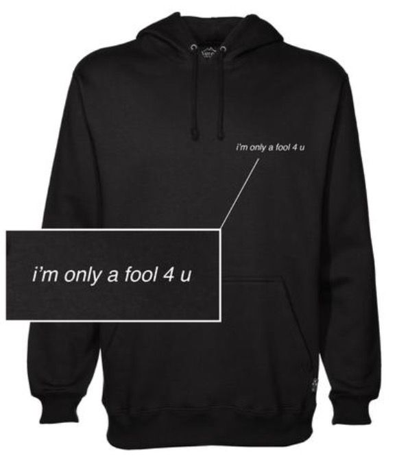 Blackbear Only A Fool 4 U hoodie merch $60