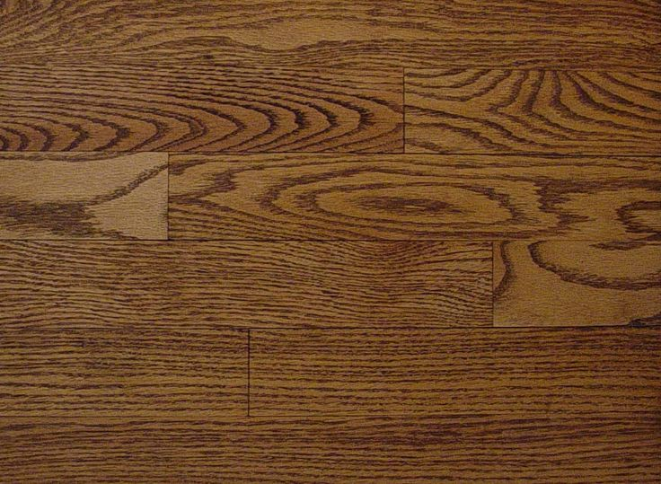Red Oak With Special Walnut Stain For The Home