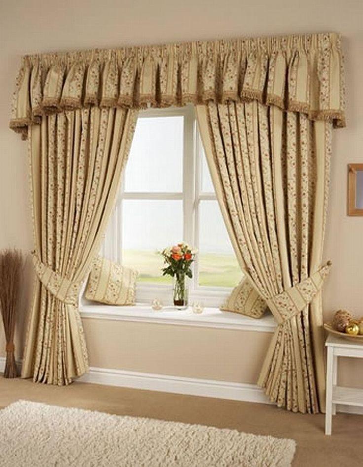 popular curtain styles Living Room