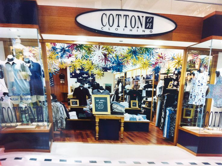 @Cotton On back in the day at Karrinyup #karrinyups40thbirthday