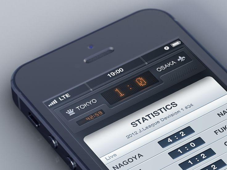 Soccer Broadcasting App | #ui