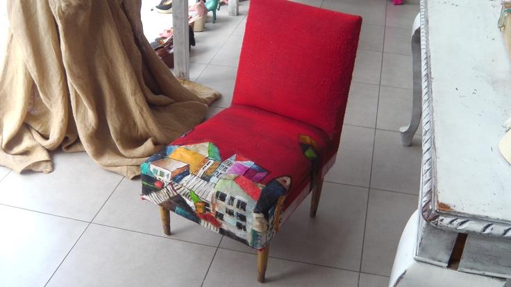 city armchair
