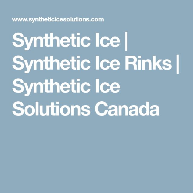 Synthetic Ice | Synthetic Ice Rinks | Synthetic Ice Solutions Canada