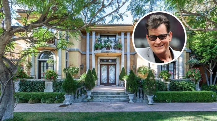 Charlie Sheen Lists Longtime Mansion in Beverly Hills