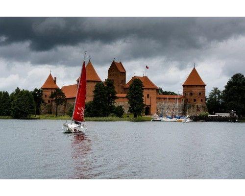 Postcard Castle of Trakai