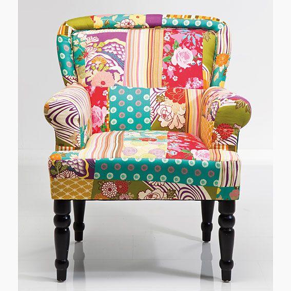 Muebles Portobellostreet.es:  Butaca Frame Patchwork - Butacas Vintage - Muebles Vintage