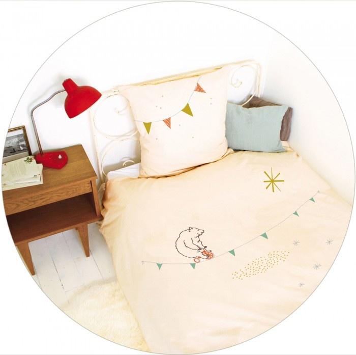 mimilou-shop: Circus Beds, Duvet Covers, Acrobat Bears, Beds Linens, Bears Beds, Beds Sets, Mimi Lou, Girls Rooms, Kids Rooms