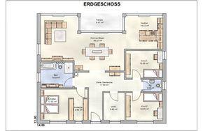 Das Bungalow Vita 140 WD von Wäller Haus GmbH hat eine Wohnfläche von 140m². Preis ab: 149900€. Jetzt auf Massivhaus.de ansehen.