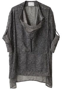 Phillip Lim Roll Sleeve Shirt- looks amazingly comfortable and incredibly unflattering- but I like it!