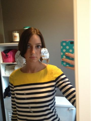 My hair is the worst when it comes to holding a curl, but, I have found a solution, thanks to my mom. She found the idea on Pinterest, an...