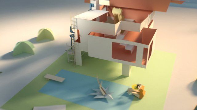 La Poste Animation by Edouard Salier, a Motion Designer from France (Art Direction by François Peyranne and Marthe Salier).