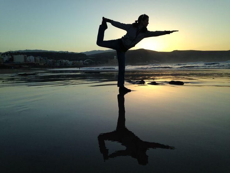 #yoga at sunrise