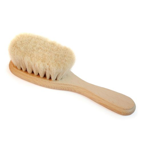 Eco Baby Hairbrush. This is a BuyMeOnce product which means it's best in show when it comes to longevity.