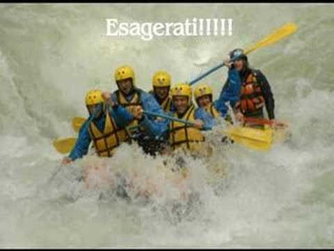 "#Italy #Umbria #Marmore falls hard rafting downhill the rapids of the Nera River - Rafting Marmore - Centro Canoa e Rafting ""Le Marmore"""