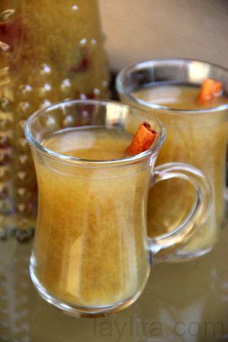 Canelazo - a warm spiced cinnamon cocktail made with cinnamon, water ...