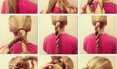 Double Twisted Bun Hairstyle Tutorial | Nadyana Magazine