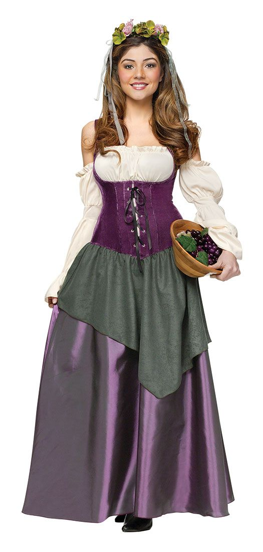 Tavern Wench Adult Costume - Medieval and Renaissance Costumes