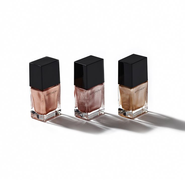 Manicures and metallics: It's all in the details. Witchery Beauty Gel Nail Polish